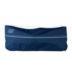 housse absorbante brevetée Beau Nuage bleu marine