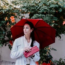 Le Mini Beau Nuage - quality mini umbrella with a patented absorbent cover