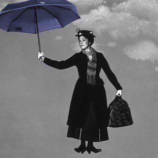 Prendre son parapluie et s'envoler sur son petit nuage…�.� ☁ . Take your umbrella and fly to cloud 9! ☁ .  #beaunuage #monbeaunuage #parapluie #pluie #umbrella #rain #marypoppins